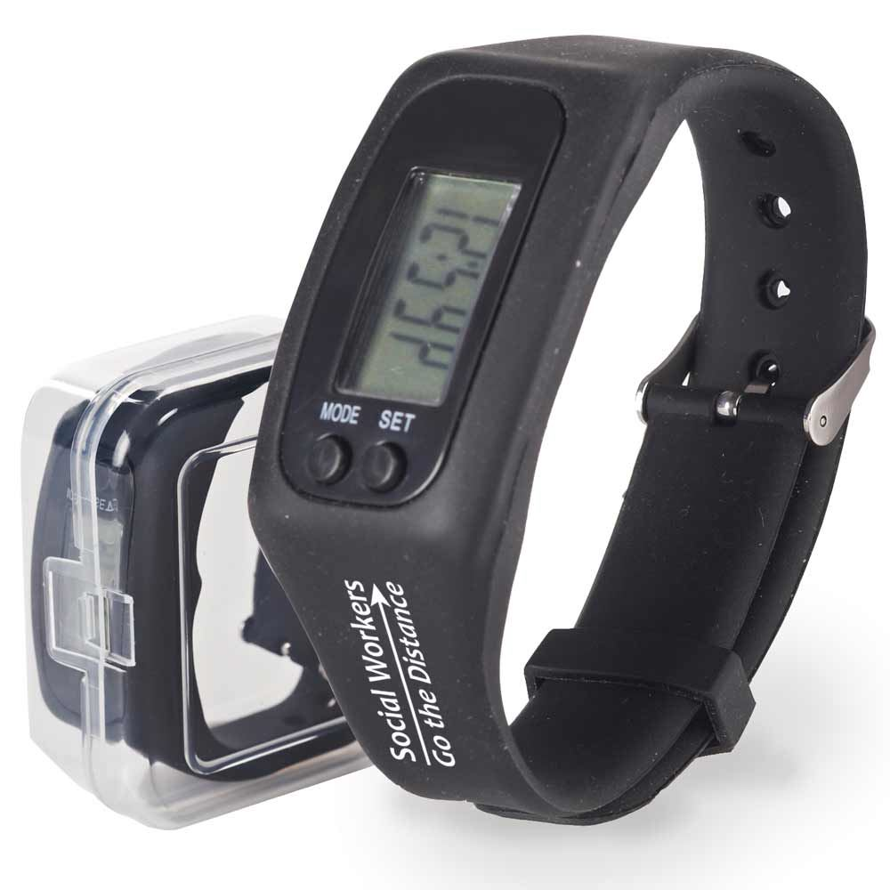 Social Workers Go The Distance Fitness Watch Pedometer