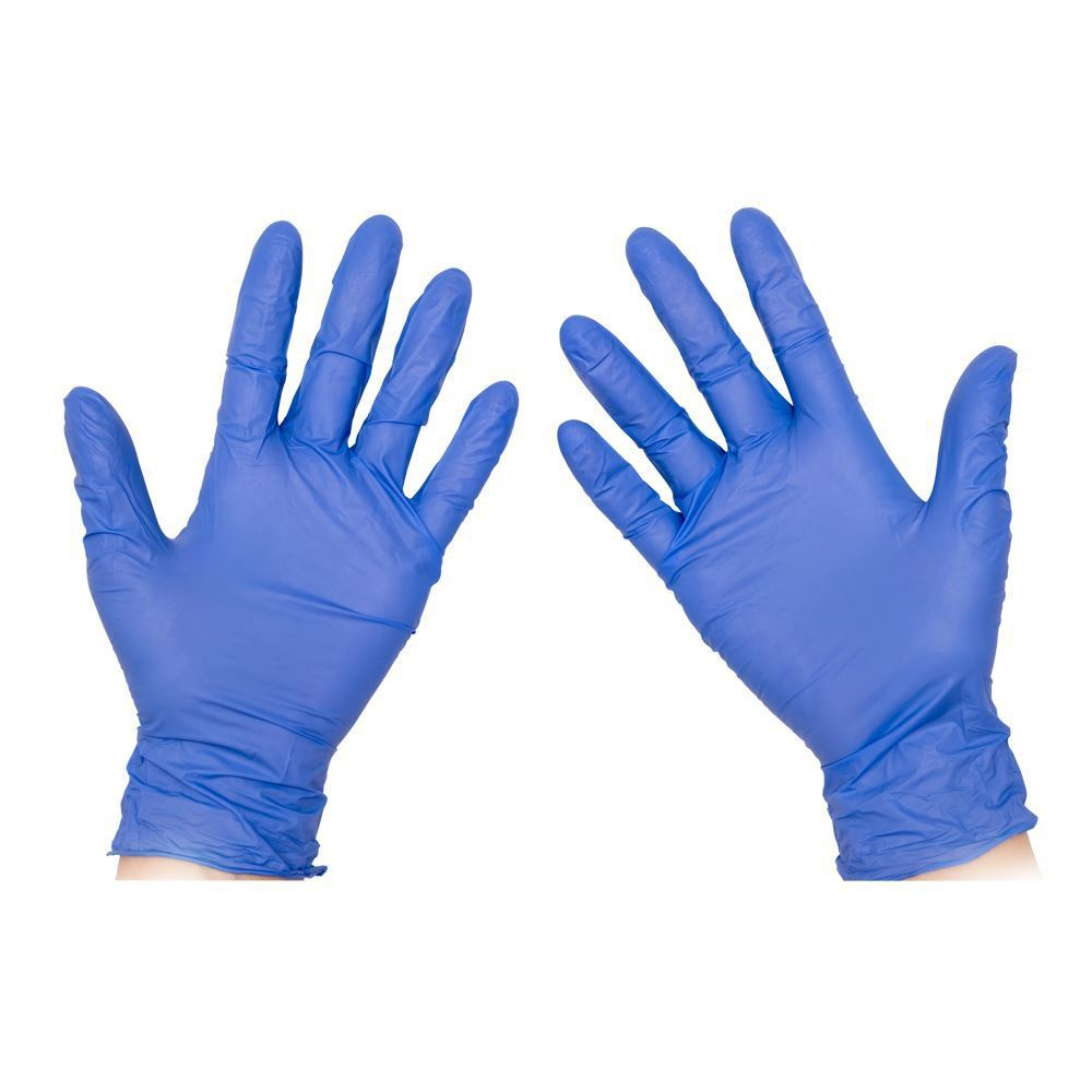 Powder Free Nitrile Gloves - Box of 100 Individual Gloves