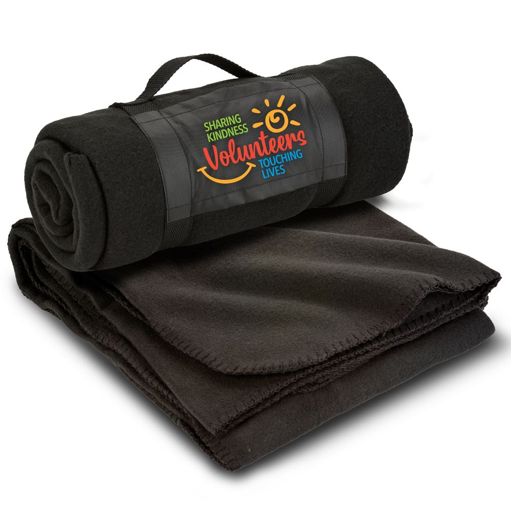 Volunteers: Sharing Kindness, Touching Lives Roll Up Eco Blanket