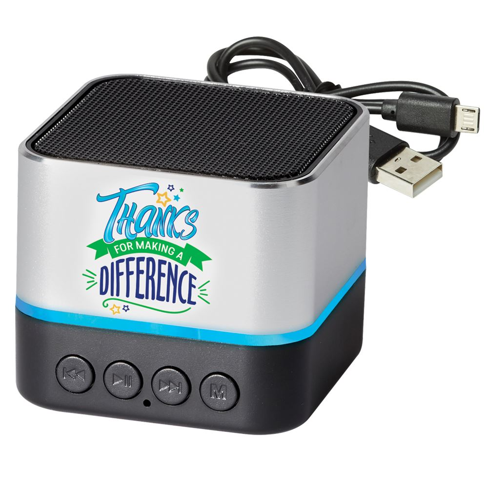 Thanks For Making A Difference Two-Tone Metal Bluetooth� Speaker