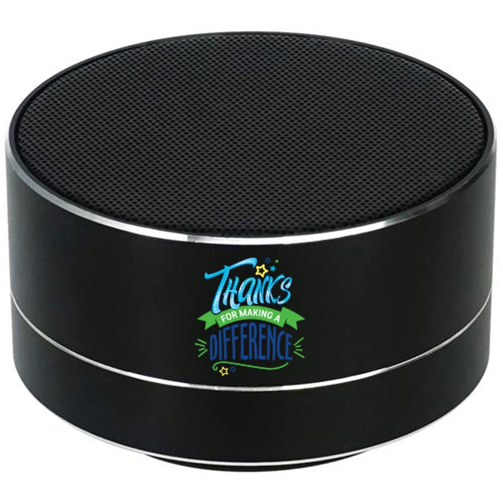 Thanks For Making A Difference Two-Tone Metal Bluetooth® Speaker