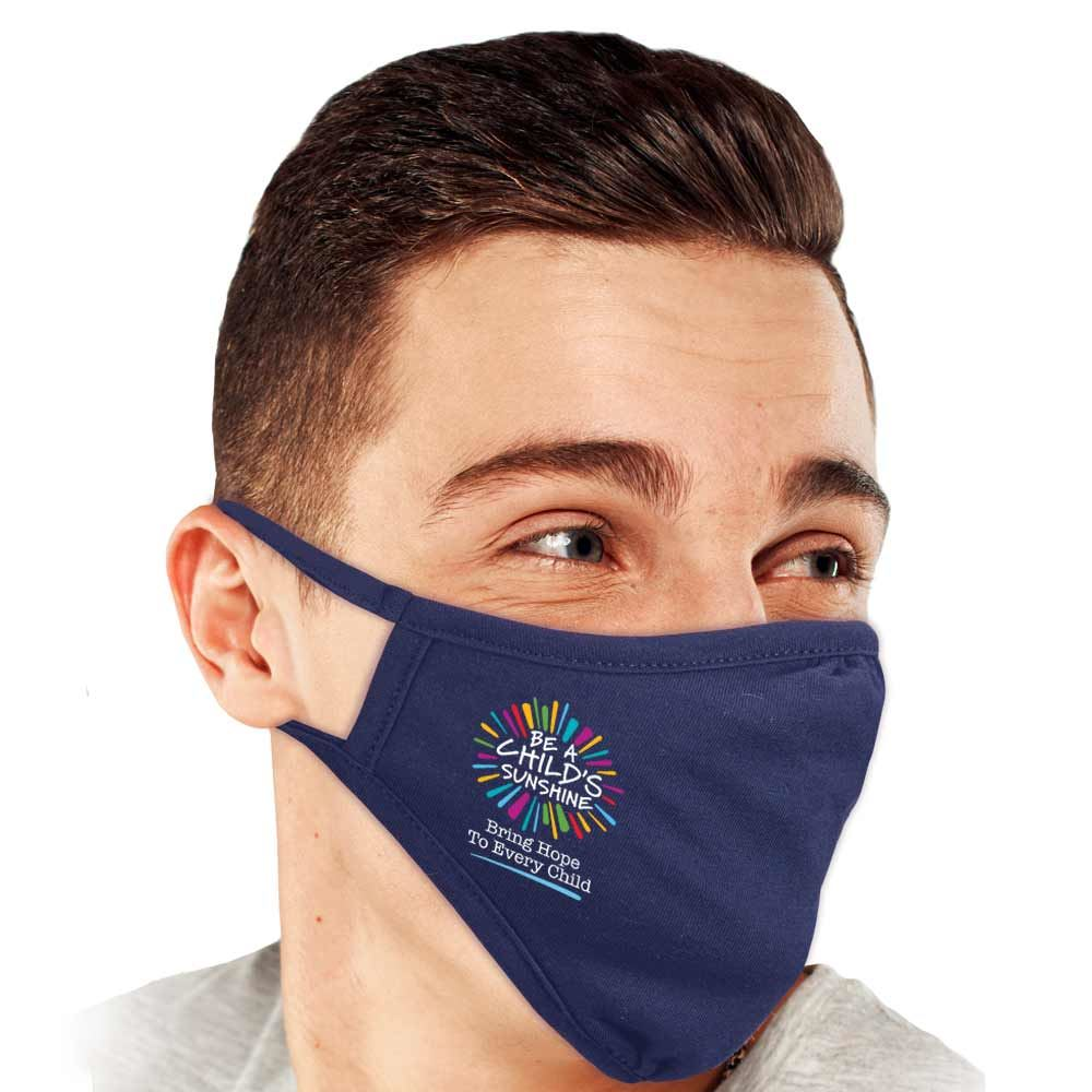 Be A Child's Sunshine 2-Ply 100% Cotton Mask - Pack of 10