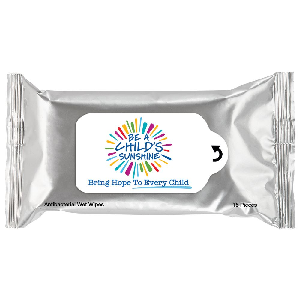 Be A Child's Sunshine Antibacterial Wet Wipes