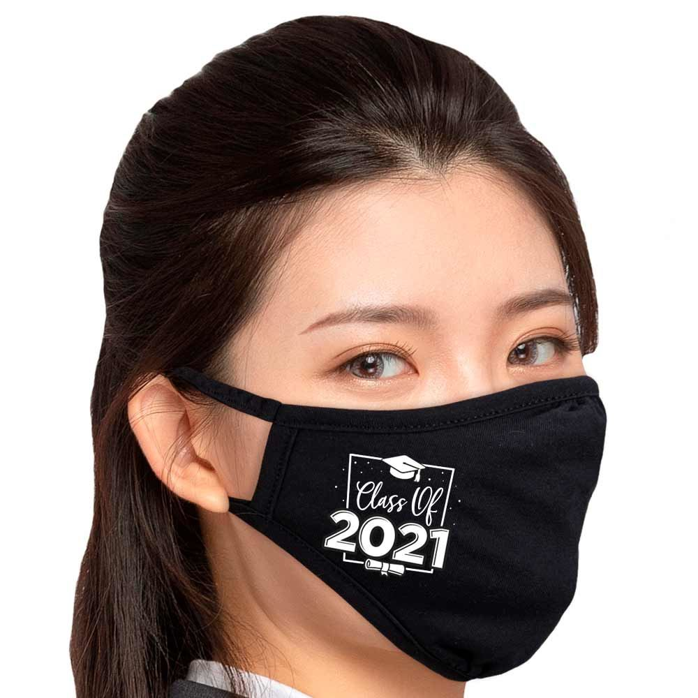 Class Of 2021 2-Ply 100% Cotton Face Mask