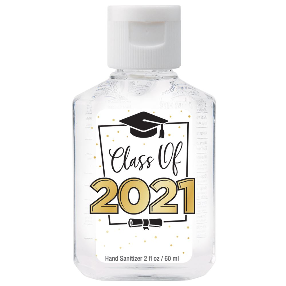 Class Of 2021 2-Oz. Hand Sanitizer