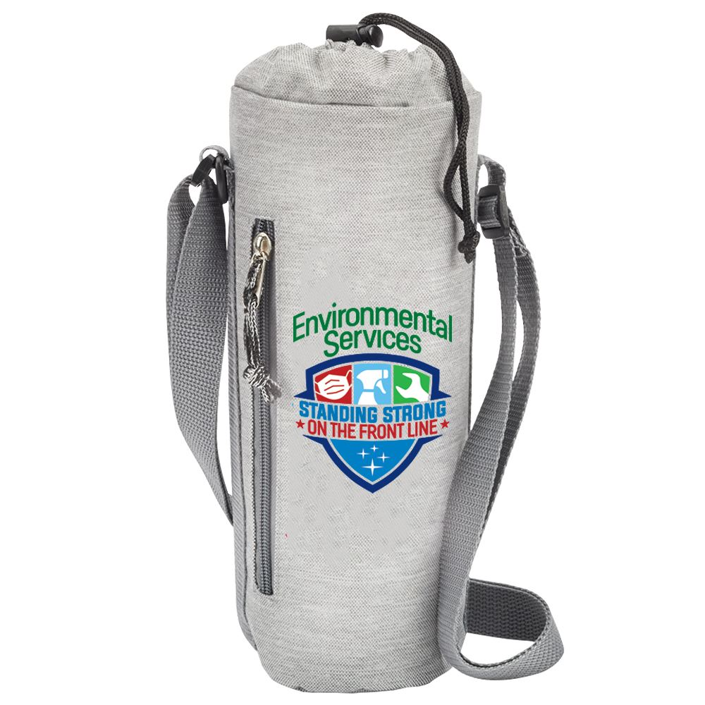 Environmental Services: Standing Strong On The Front Line Insulated Bottle Cooler Sling
