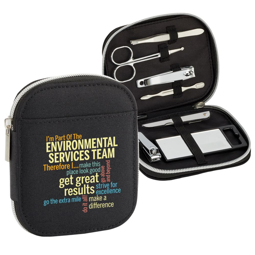 I'm Part Of The Environmental Services Team Therefore I... 7-Piece Personal Care Kit