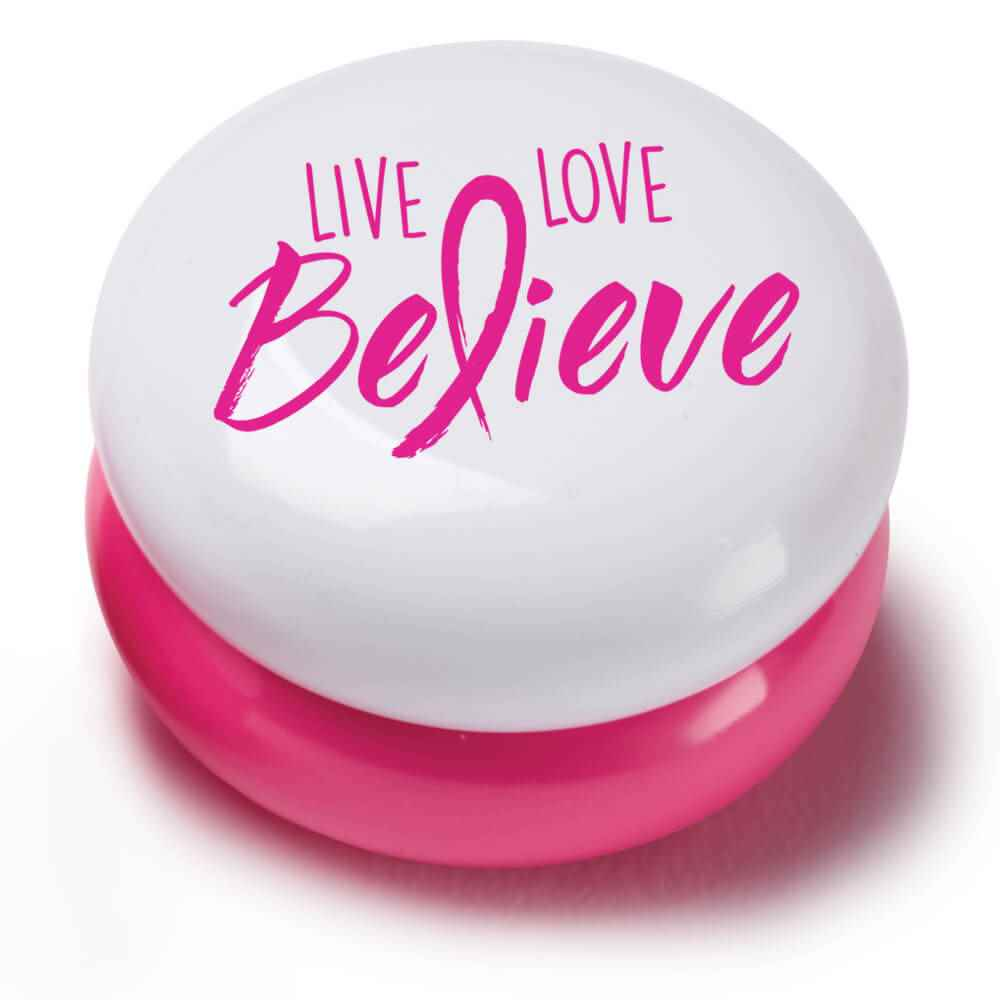 Live, Love, Believe Round Lip Balm - Pack of 10