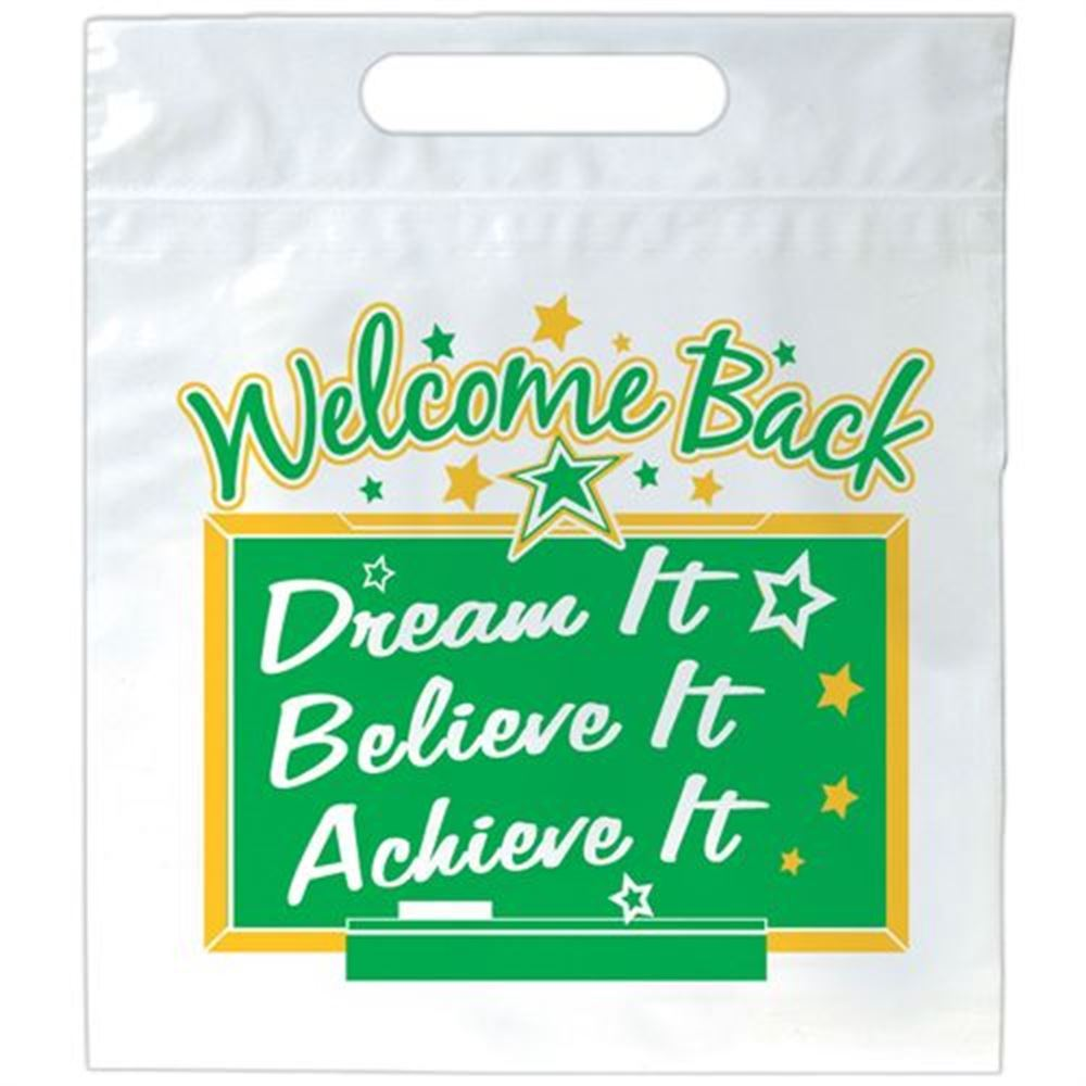 Welcome Back: Dream It Believe It Achieve It Goody Bags