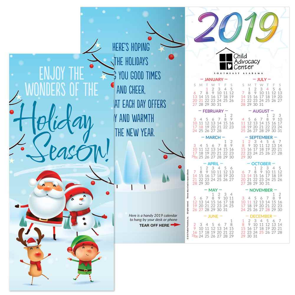 Enjoy the wonders of the holiday season 2019 holiday greeting card enjoy the wonders of the holiday season 2019 holiday greeting card calendar personalization available m4hsunfo