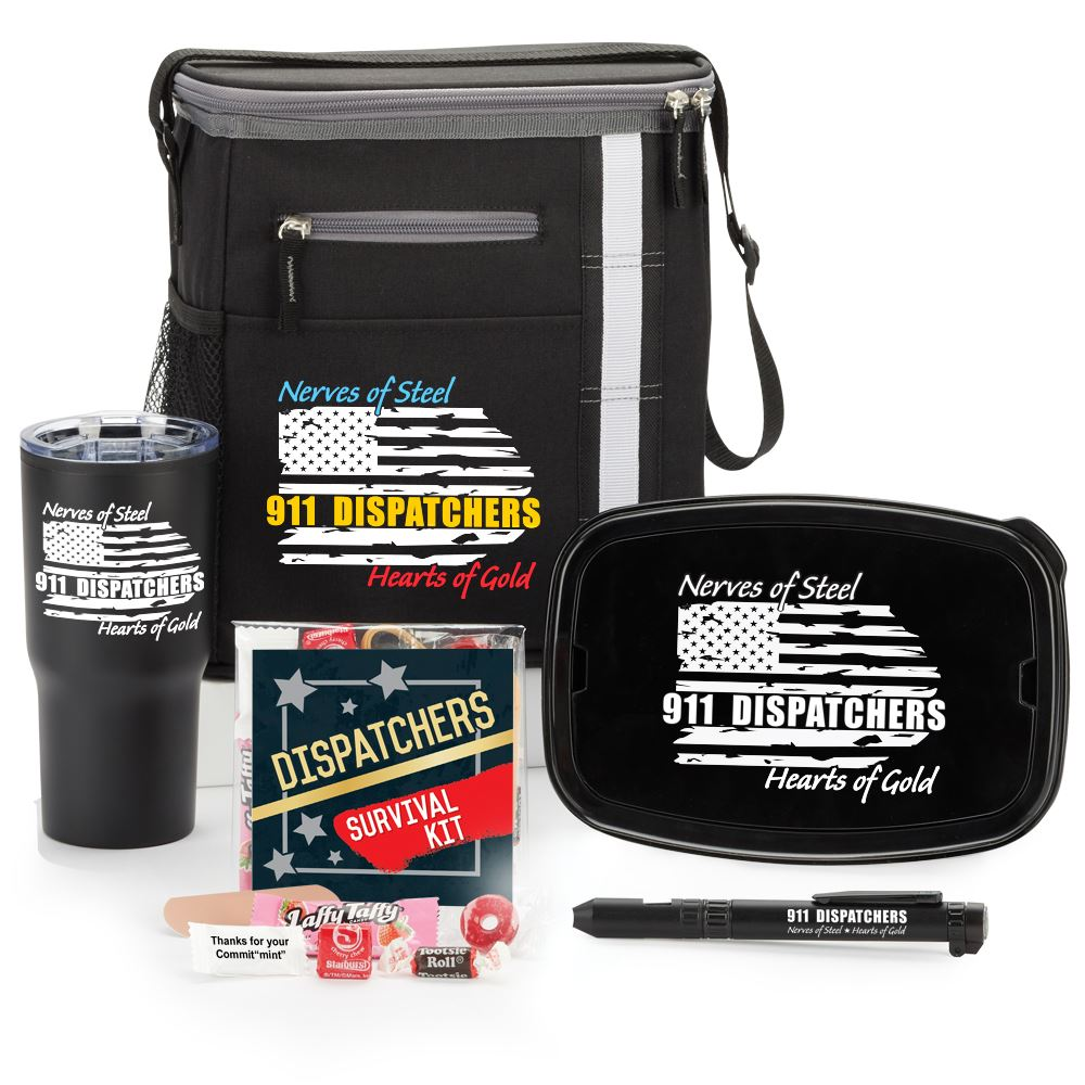 911 Dispatchers Nerves Of Steel Heart Of Gold Gift A Day Value Pack