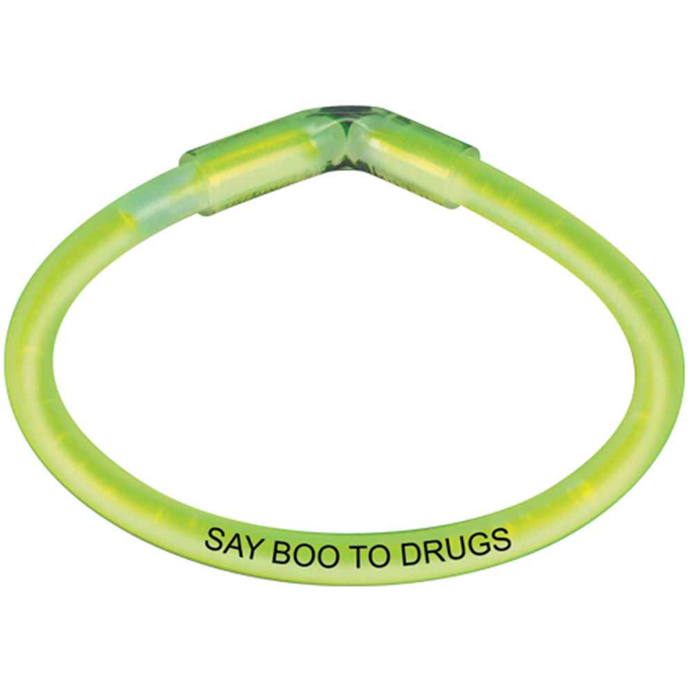 Say Boo To Drugs Safety Glow Bracelet - 50 Per Pack