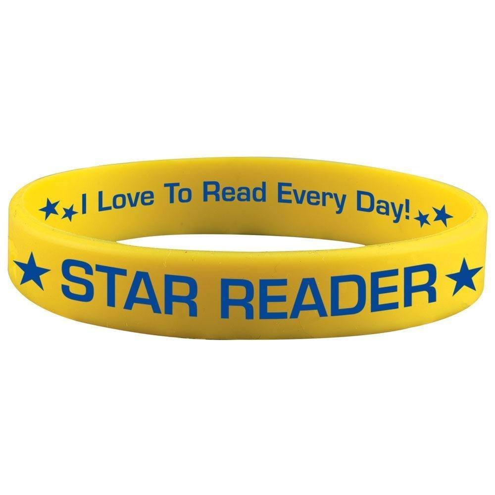 Star Reader Silicone Bracelets - Pack of 10