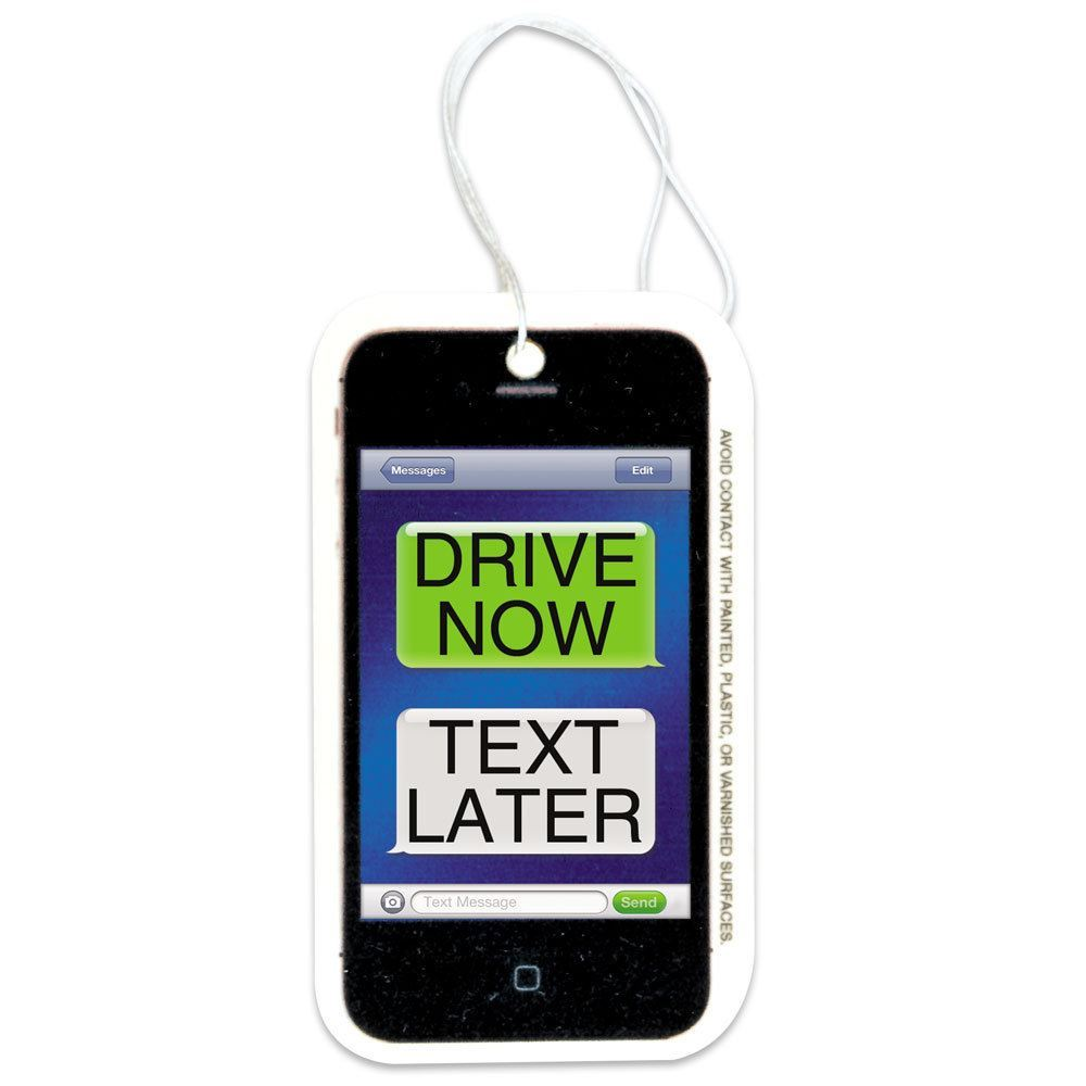 Drive Now, Text Later Citrus Air Freshener