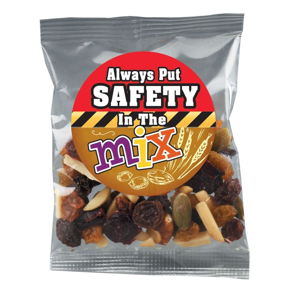Always Put Safety In The Mix Trail Mix Treat Pack