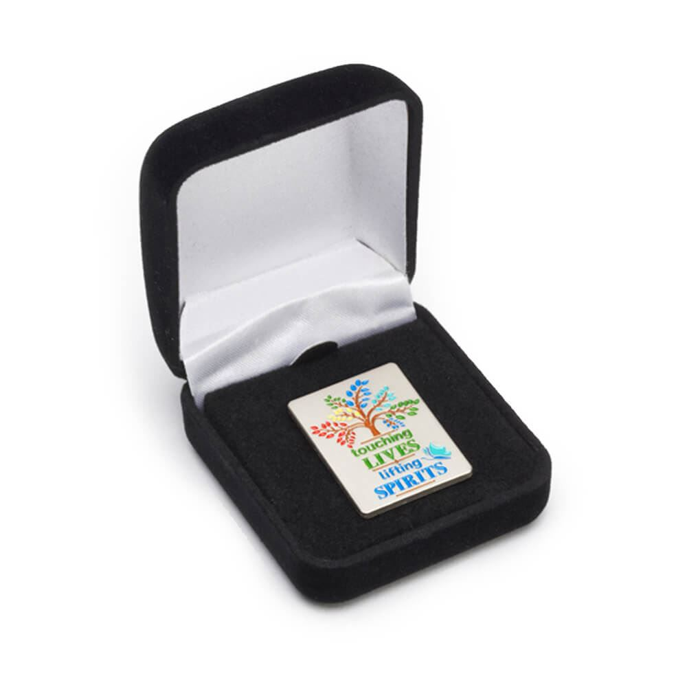 Lapel Pin Presentation Box