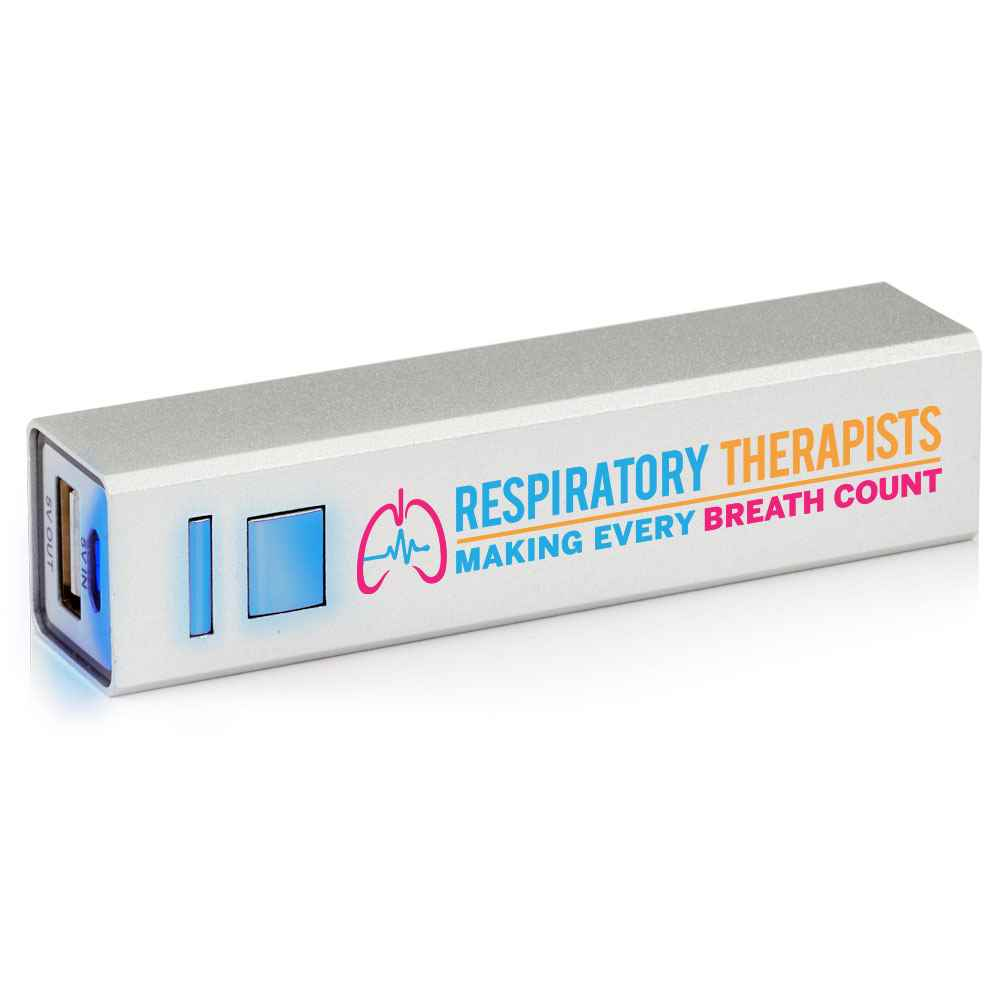 Respiratory Therapists: Making Every Breath Count UL® Metal Power Bank