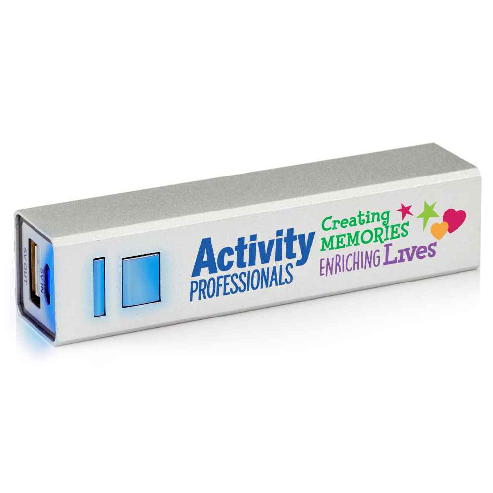 Activity Professionals: Creating Memories, Enriching Lives UL® Metal Power Bank