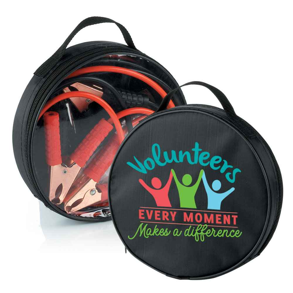 Volunteers: Every Moment Makes A Difference 5-Piece Auto Emergency Kit