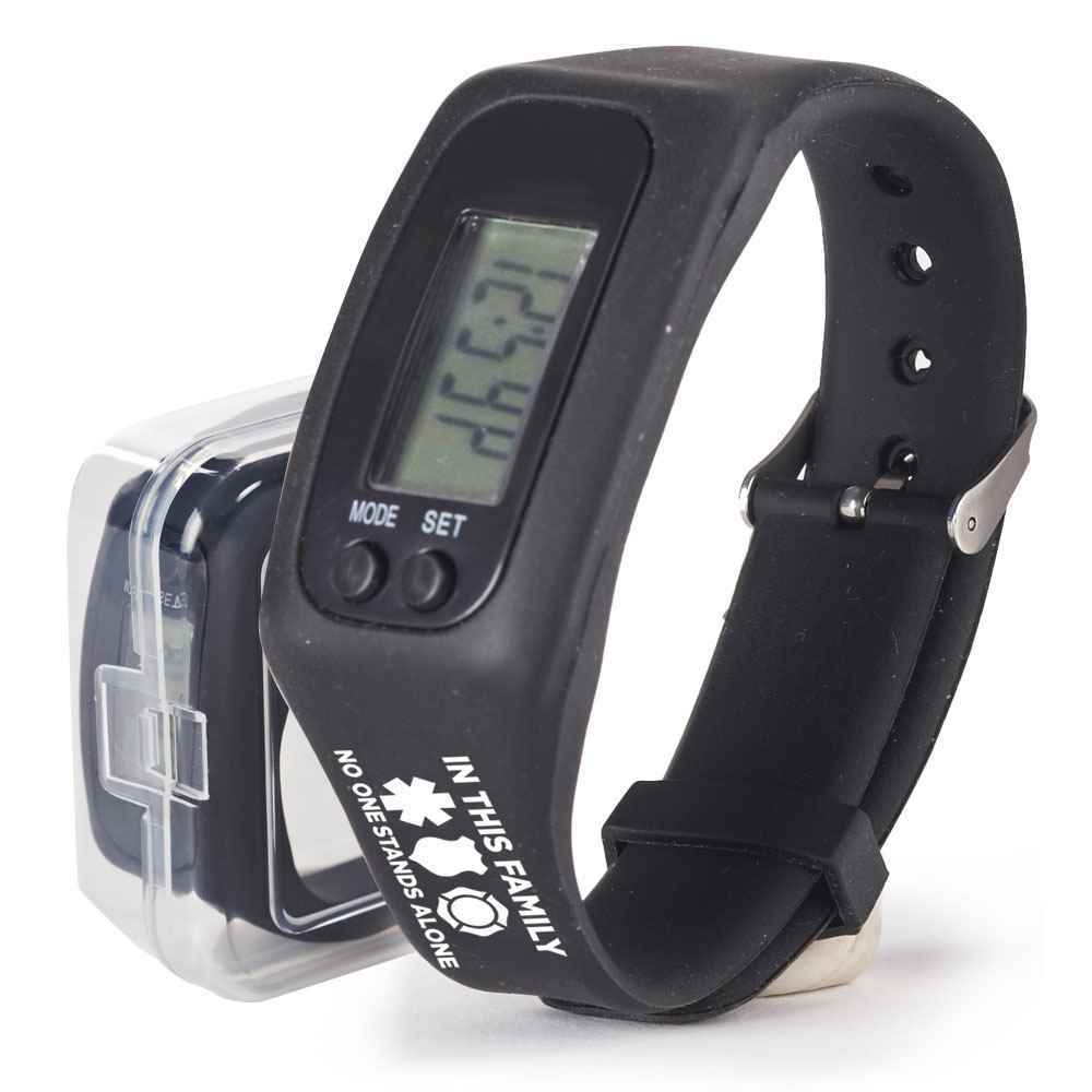 In This Family No One Stands Alone Fitness Watch Pedometer