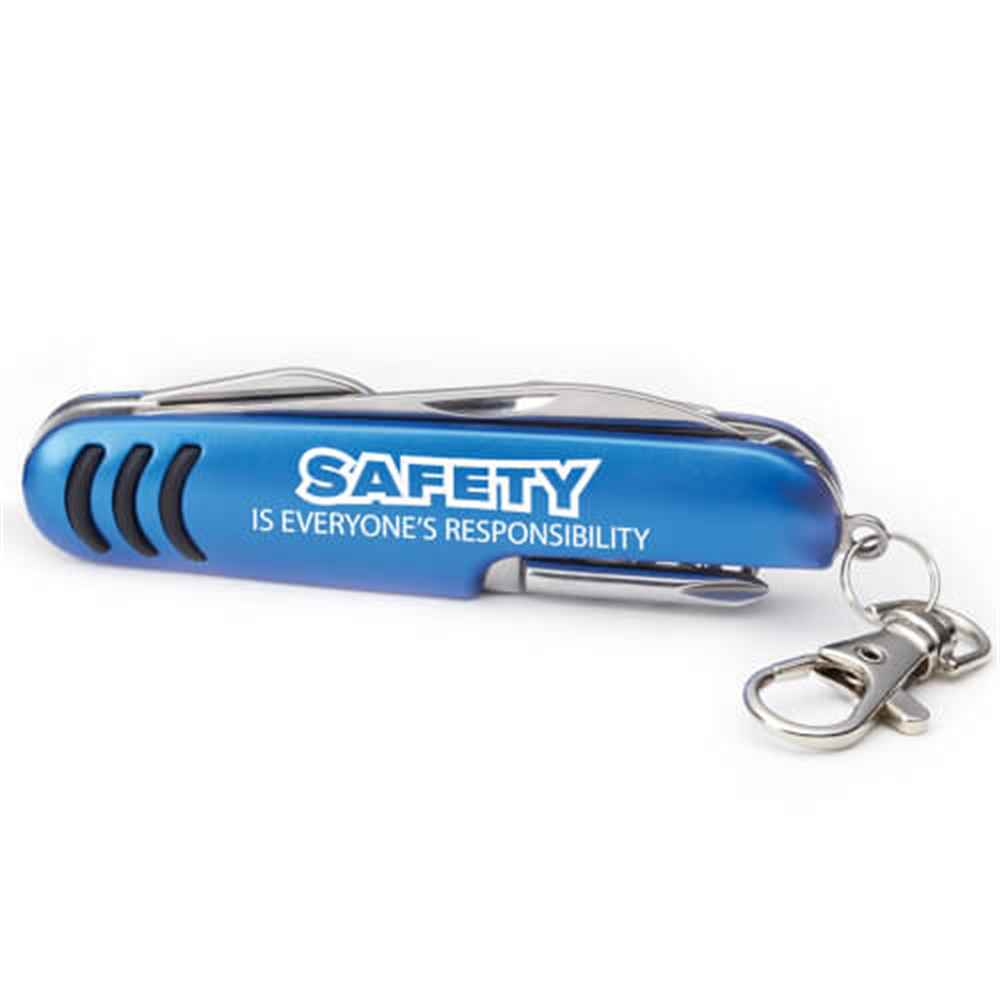 Safety Is Everyone's Responsibility Deluxe Pocket Knife