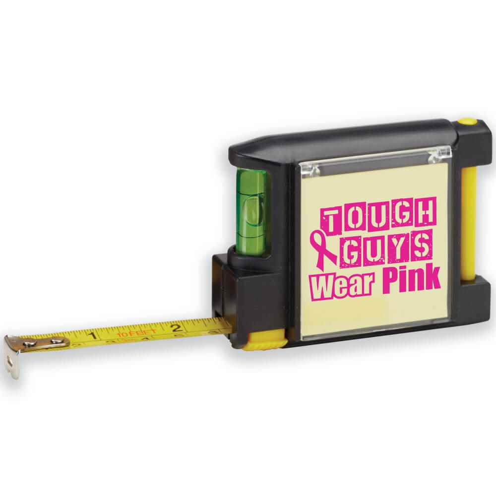 Tough Guys Wear Pink Deluxe Tape Measure