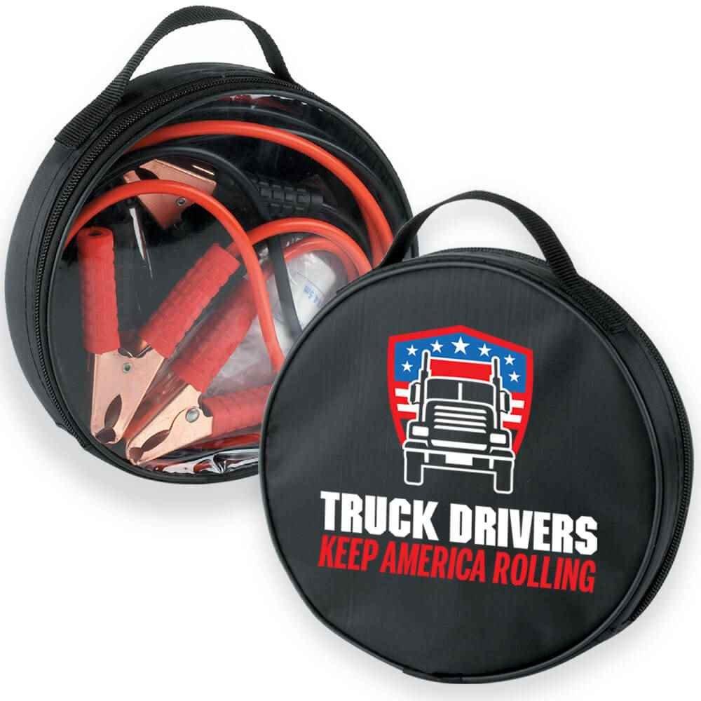 Truck Drivers Keep America Rolling 5-Piece Auto Emergency Kit