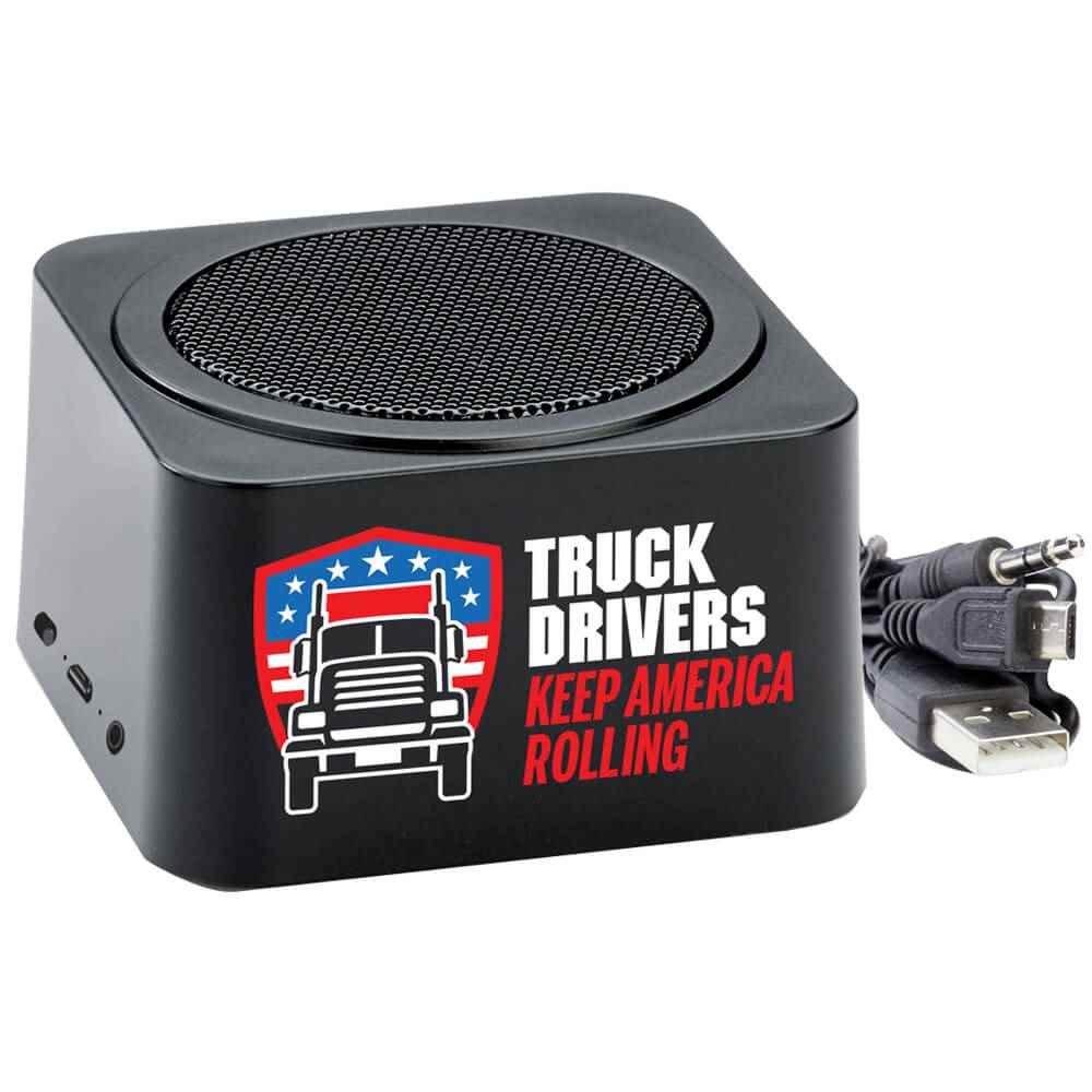 Truck Drivers Keep America Rolling Bluetooth® Speaker