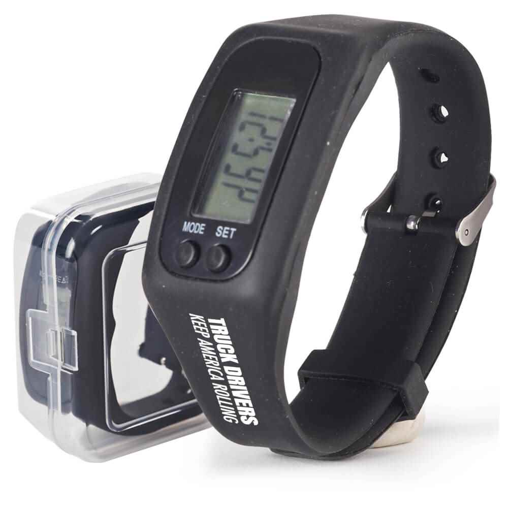 Truck Drivers Keep America Rolling Fitness Watch Pedometer