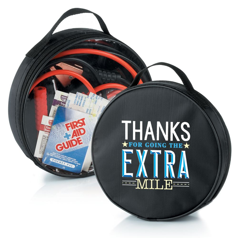 Thanks For Going The Extra Mile Auto Emergency Kit