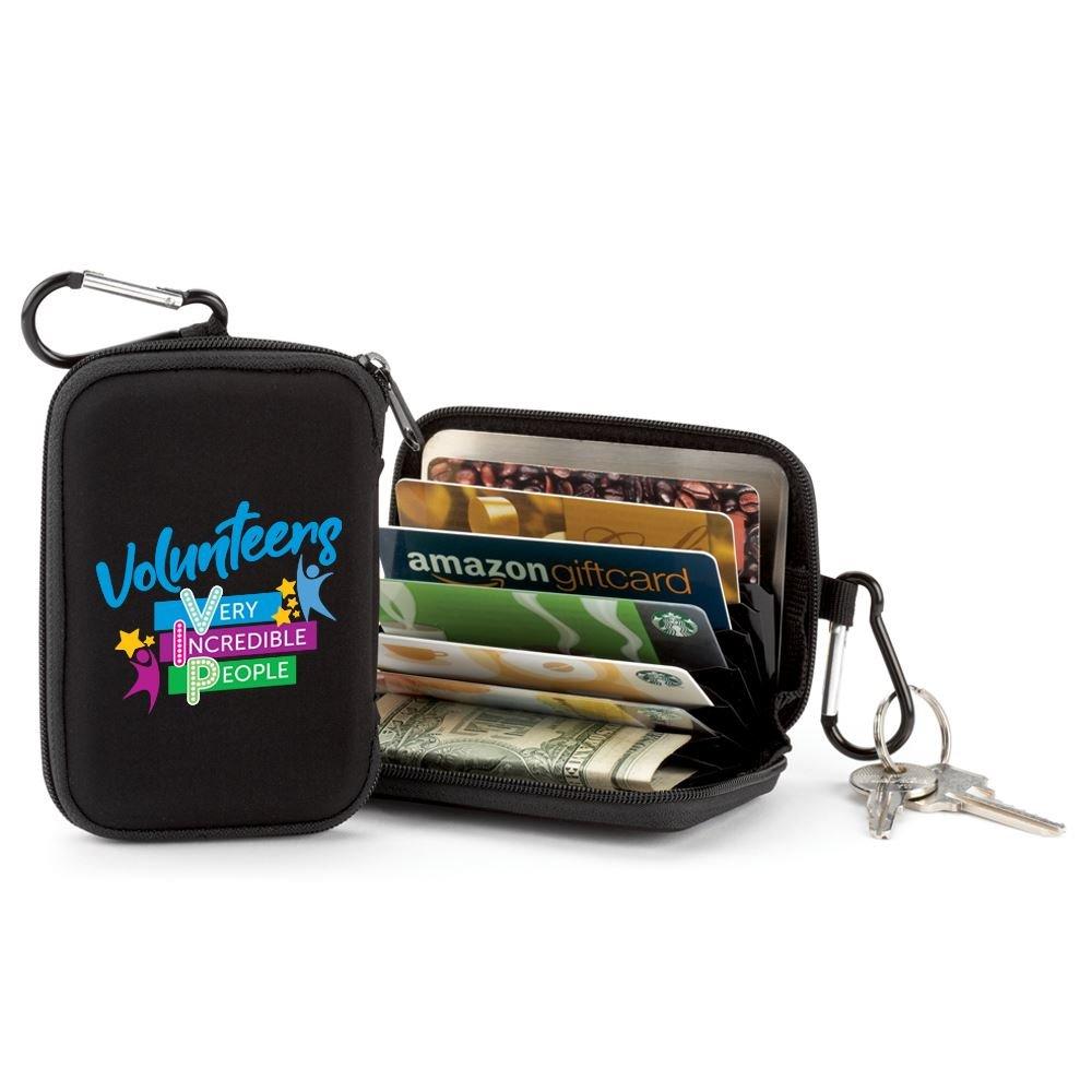 Volunteers: Very Incredible People Identity Guard Wallet With Carabiner