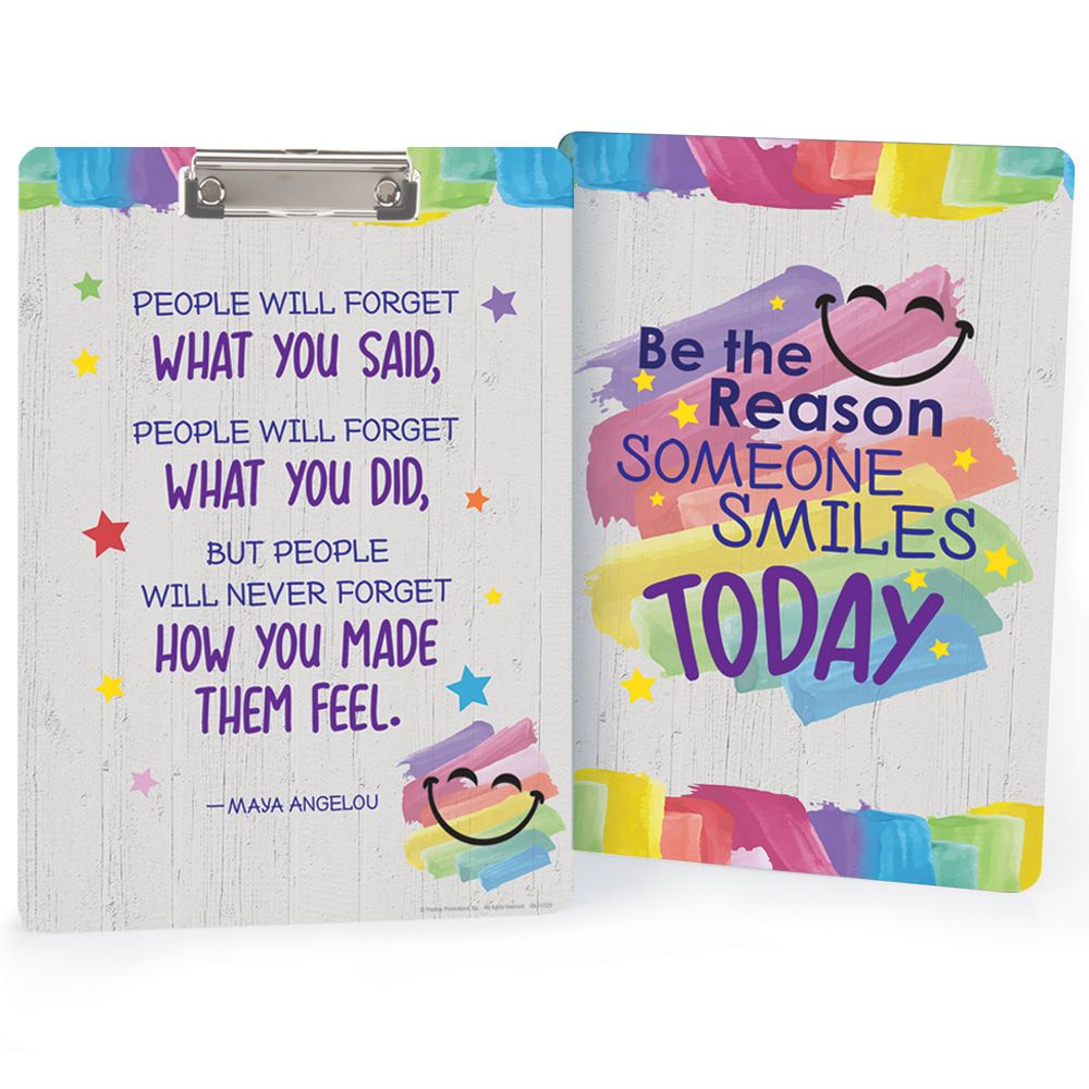 Be The Reason Someone Smiles Today Clipboard