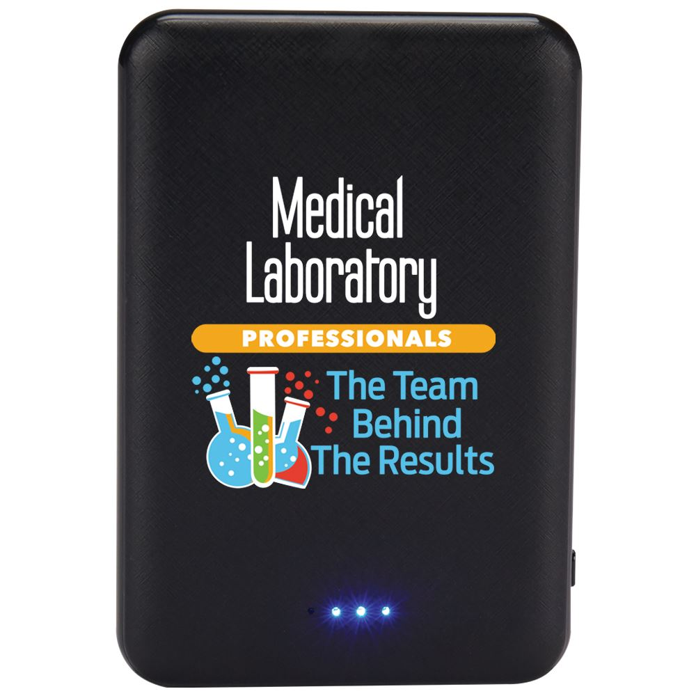 Medical Laboratory Professionals: The Team Behind The Results 5000 mAh UL® Power Bank