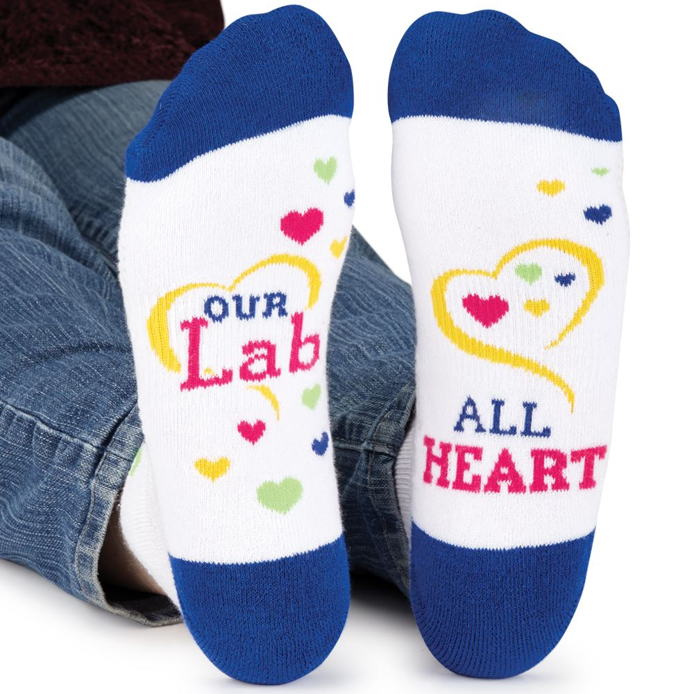 Our Lab Is All Hearts