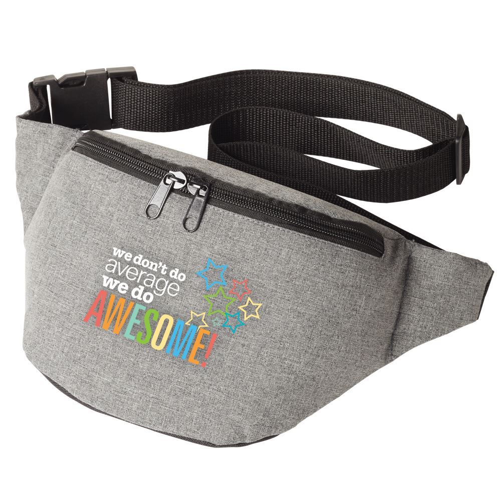 We Don't Do Average We Do Awesome Waist Pack