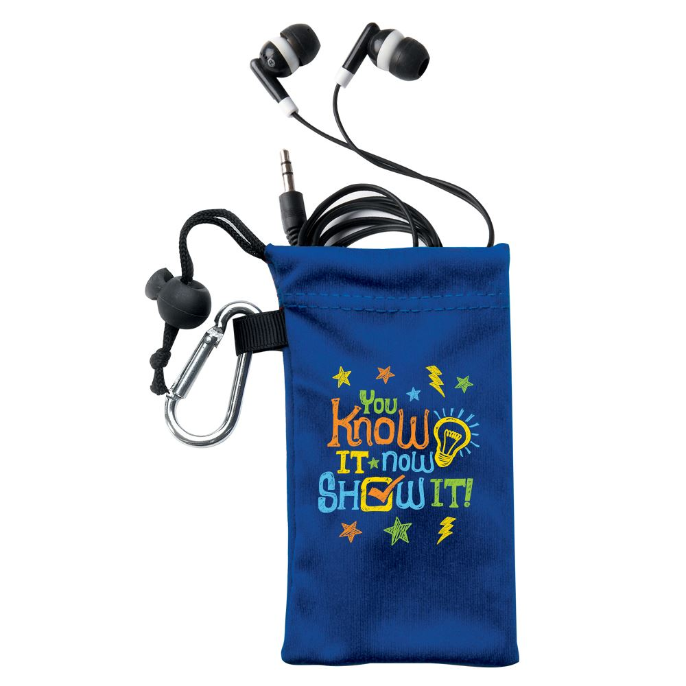You Know It Now Show It Earbuds