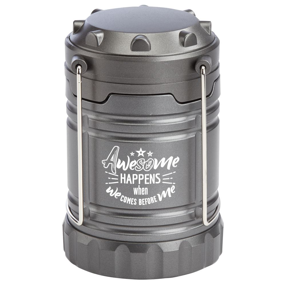 Awesome Happens When We Comes Before Me Indoor/Outdoor Lantern With Magnetic Base