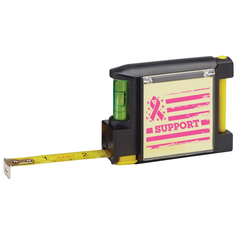 Support/Flag Deluxe Tape Measure