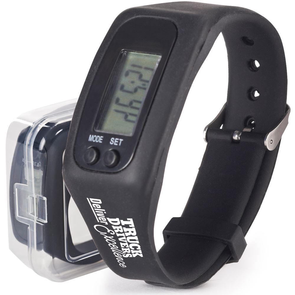 Truck Drivers Deliver Excellence Fitness Watch Pedometer