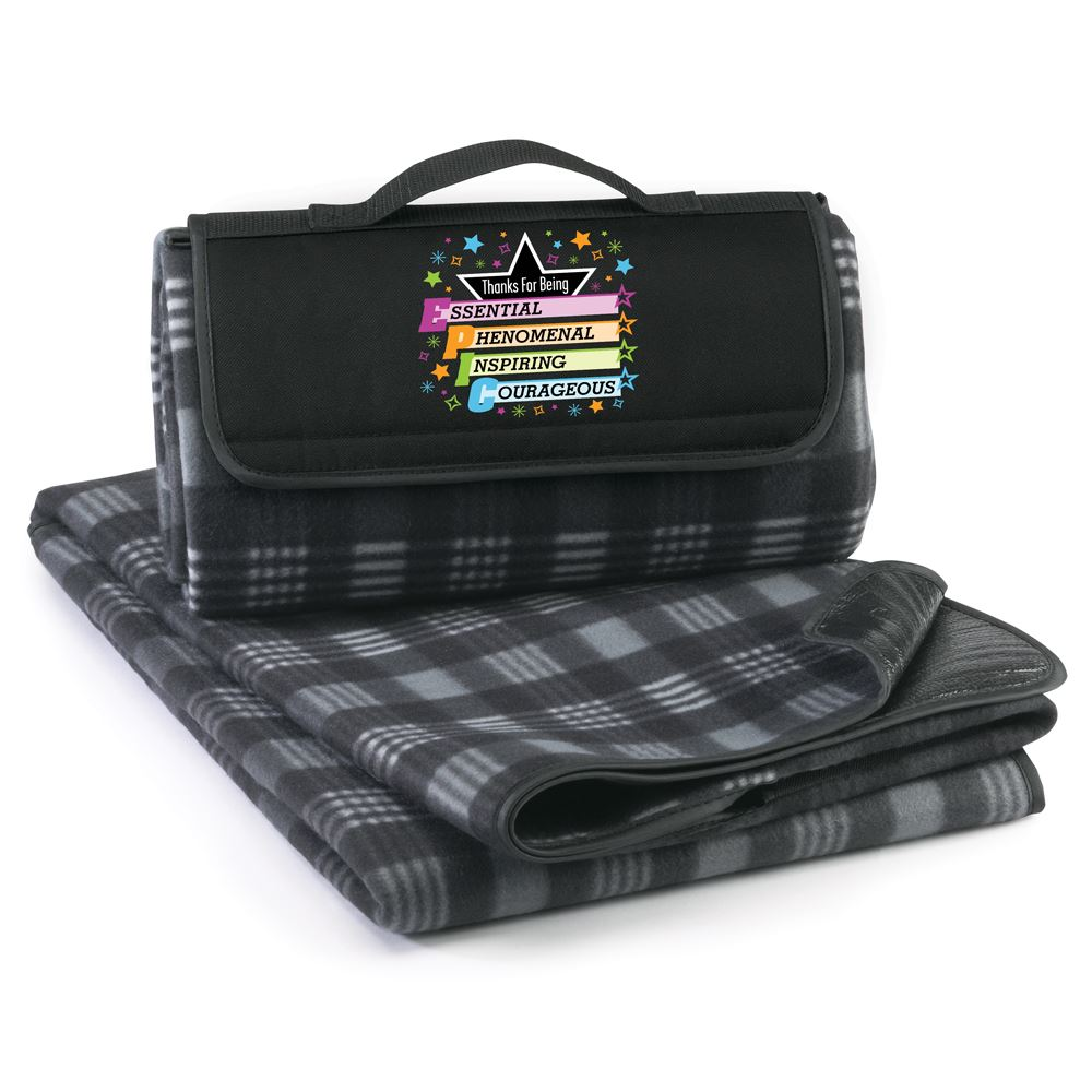 Thanks For Being EPIC Fleece Picnic Blanket