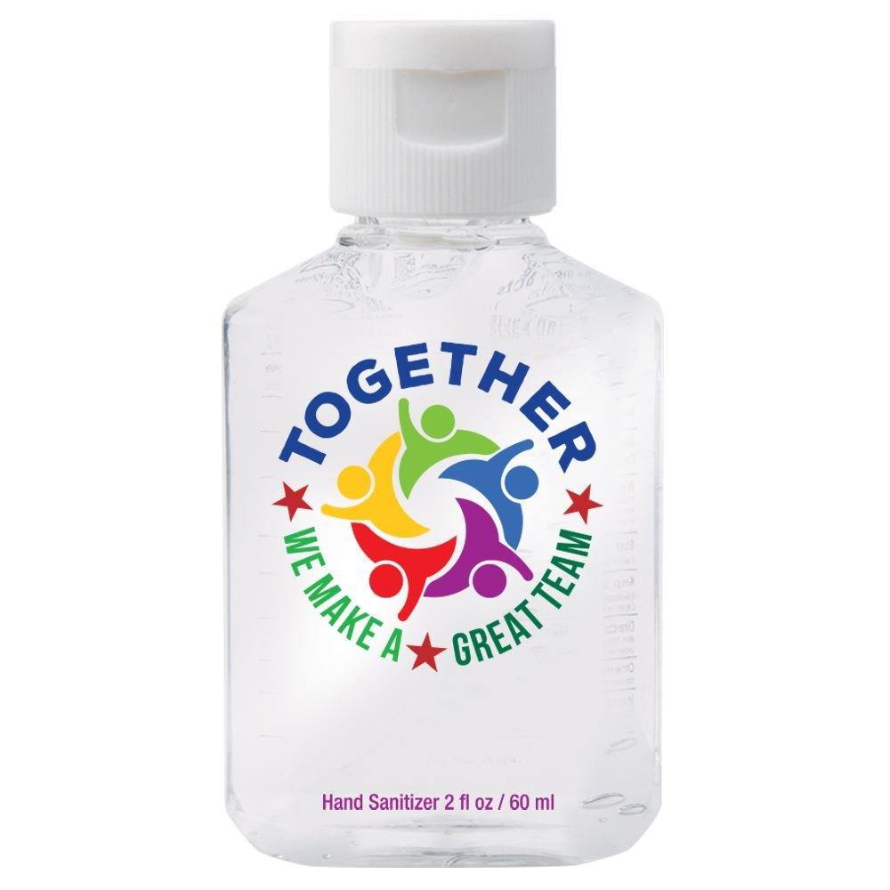 Together We Make A Great Team 2-Oz. Hand Sanitizer Gel