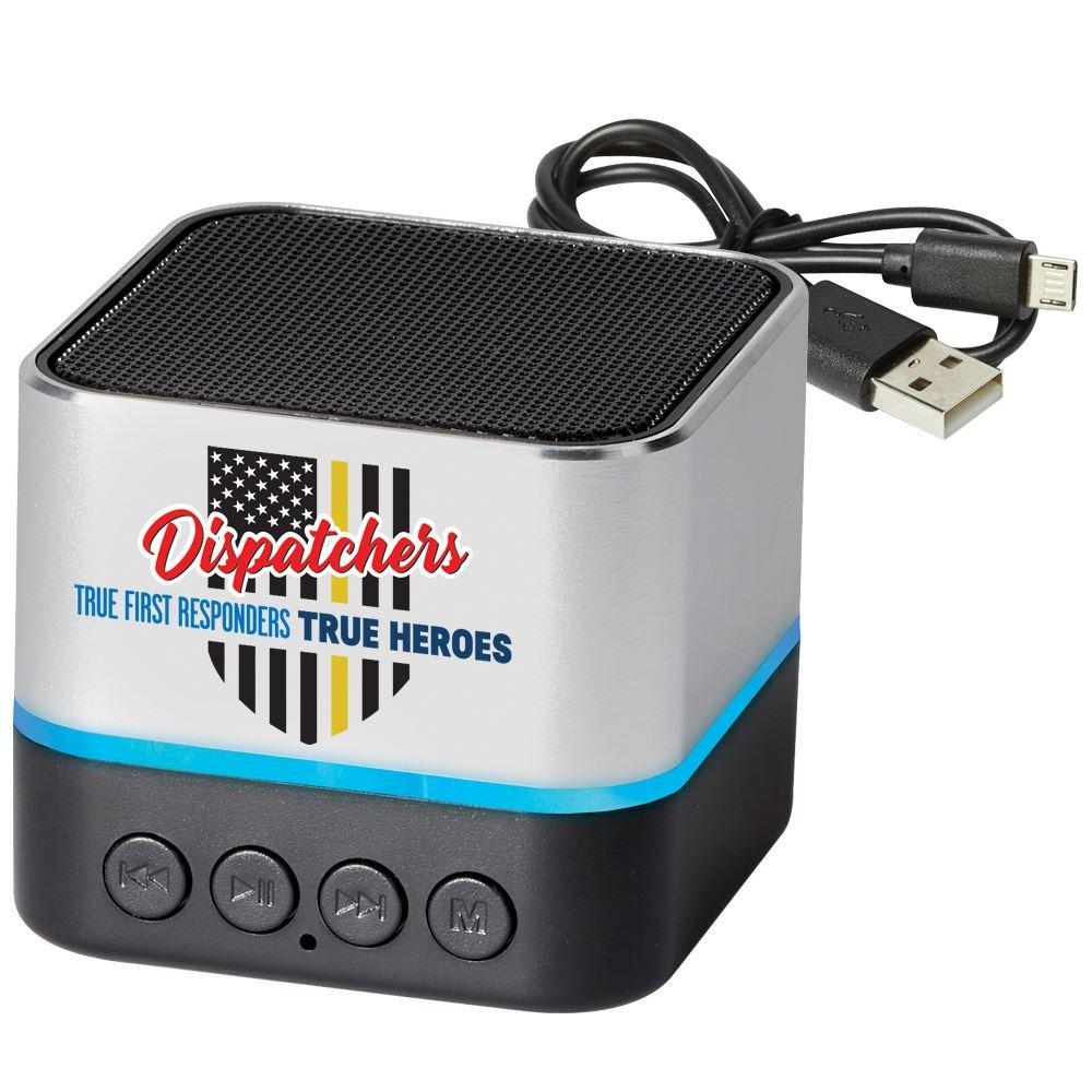 Dispatchers: True First Responders, True Heroes Two-Tone Metal Bluetooth� Speaker