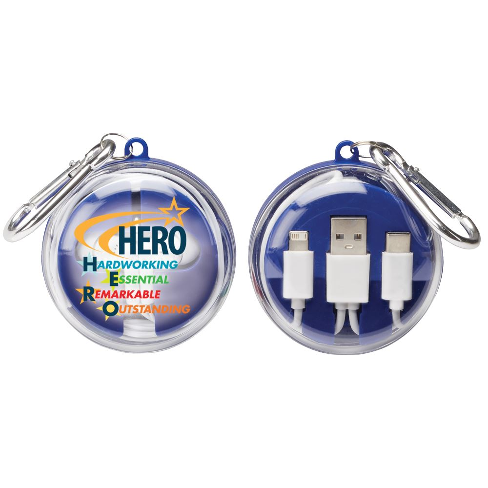 Hero: Hardworking, Essential, Remarkable, Outstanding 2-In-1 Tech Set