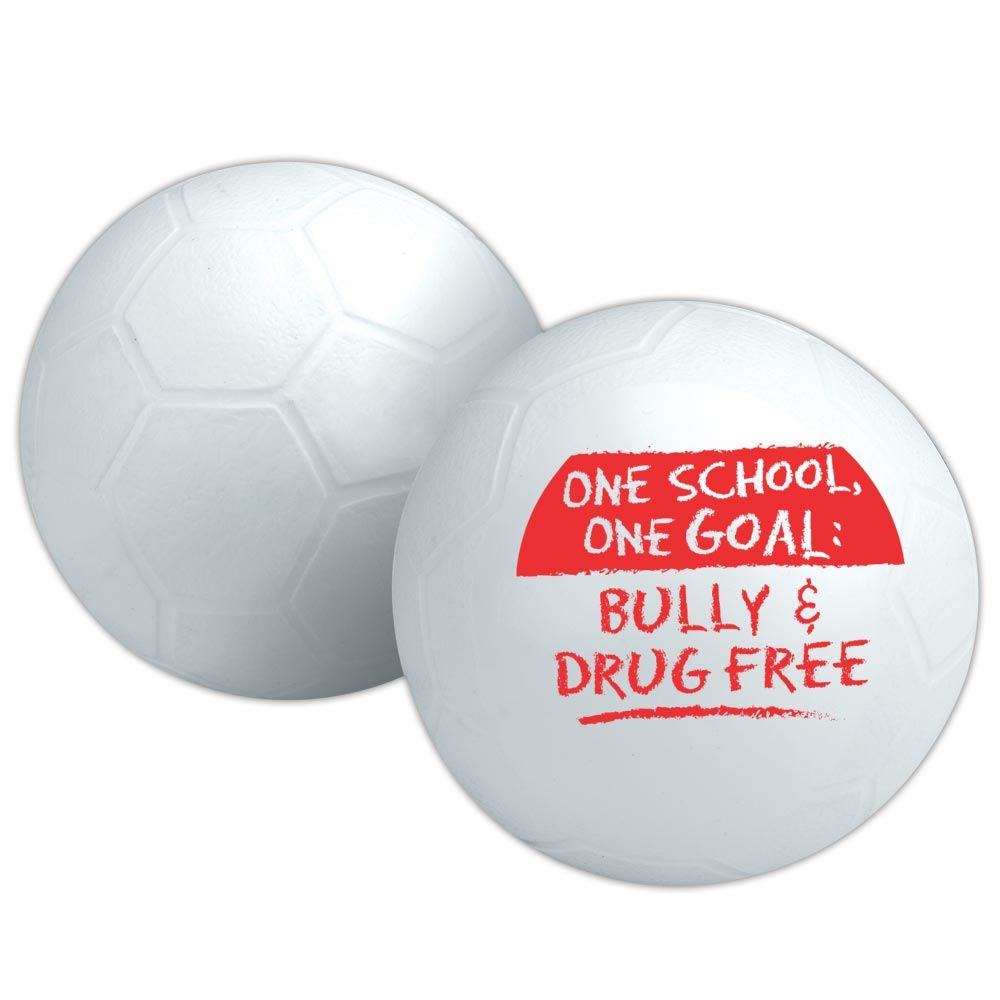One School, One Goal: Bully & Drug Free Mini Soccer Ball
