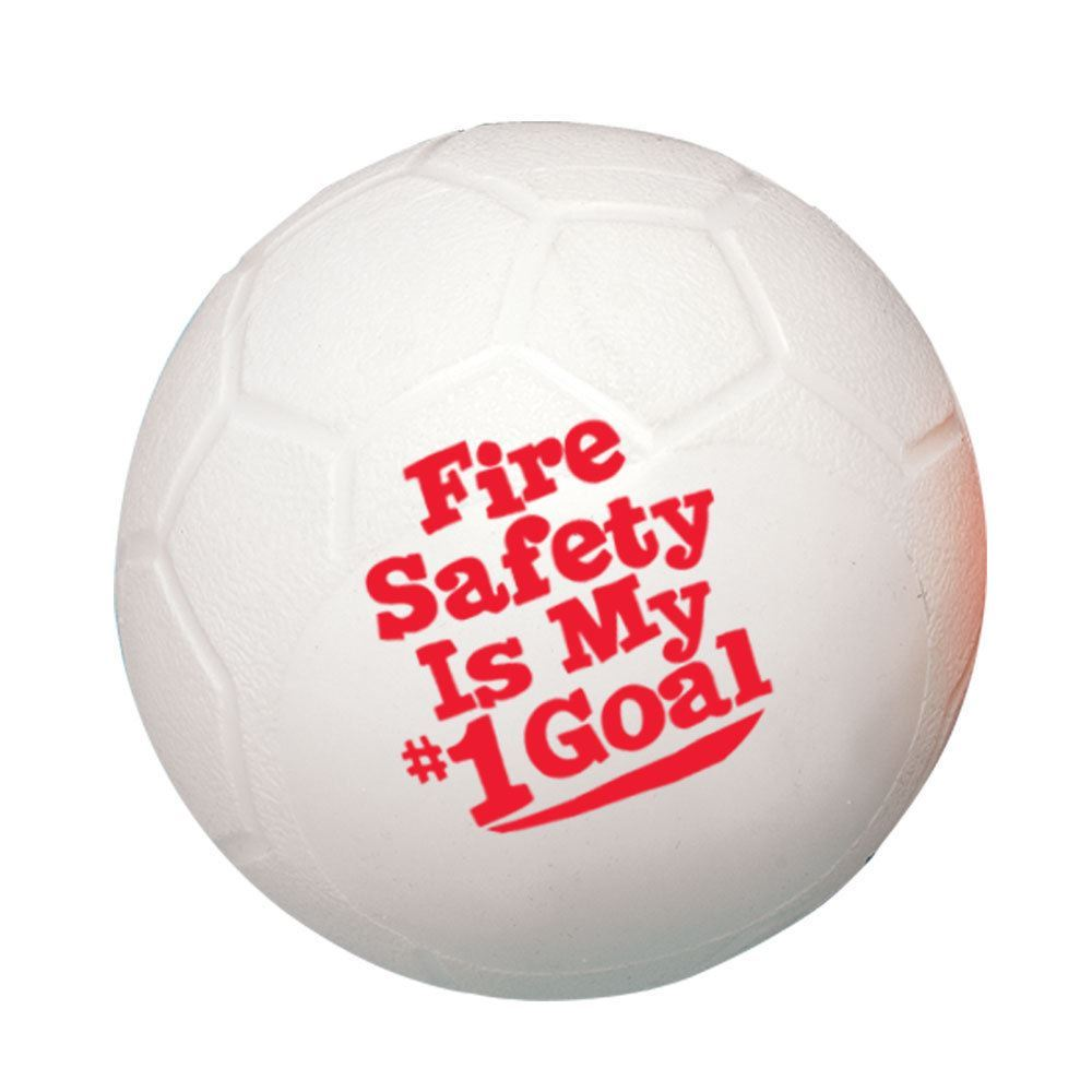 Fire Safety Is My #1 Goal Mini Soccer Ball