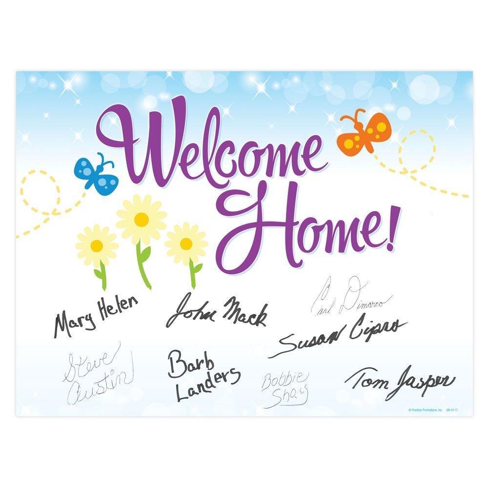 Welcome Home! Door Poster