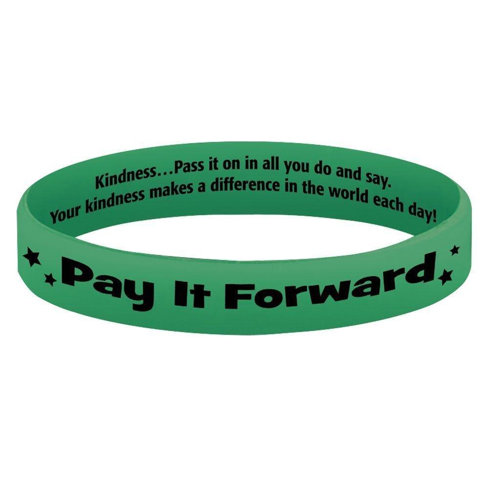 Pay It Forward Glow Silicone Bracelets