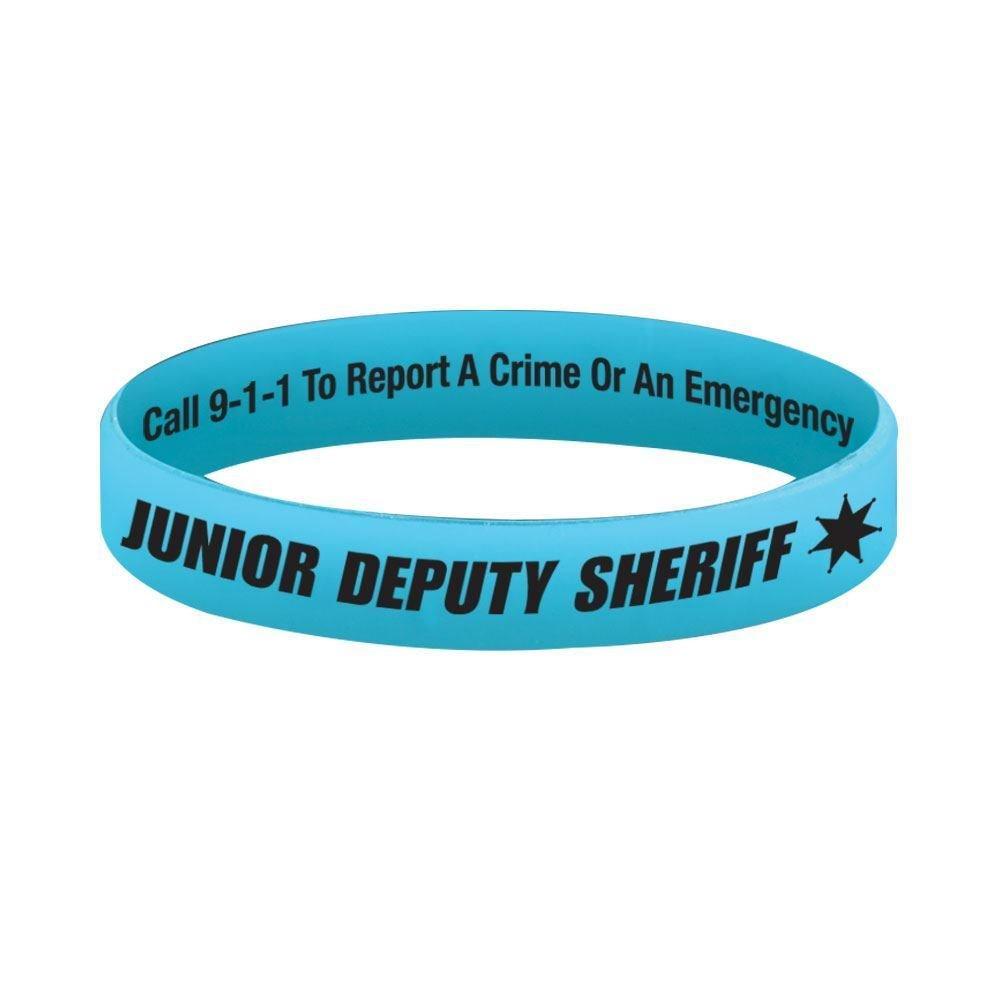 Junior Deputy Sheriff Two-Sided Silicone Bracelet