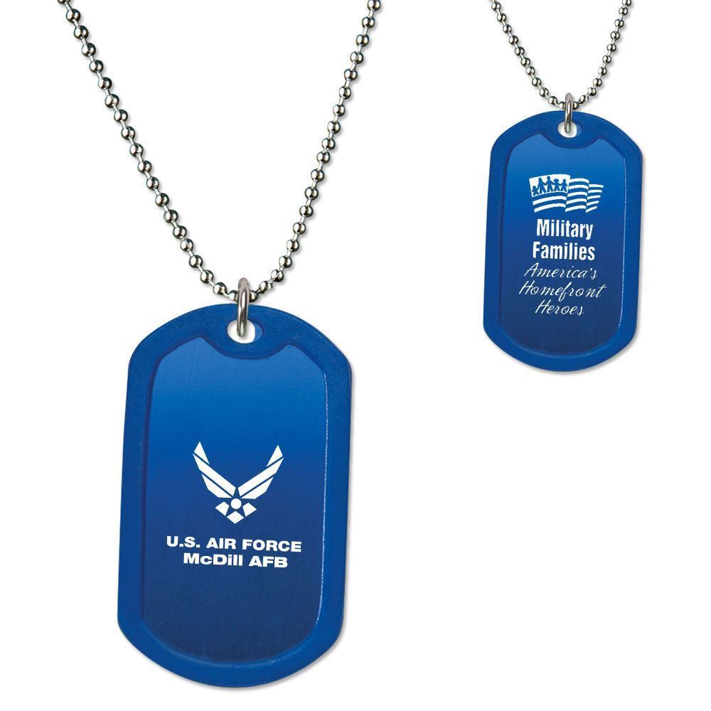 Military Families Dog Tag - Personalization Available