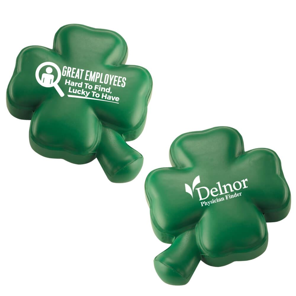 Four-Leaf Clover Stress Reliever - Personalization Available